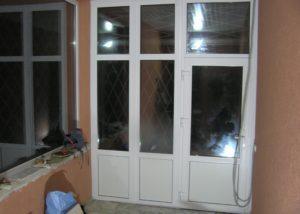 Панорамное окно входная дверь ПВХ