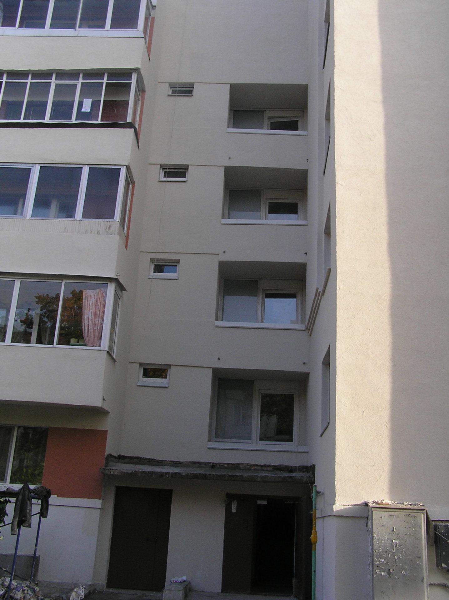 Окна, фасад