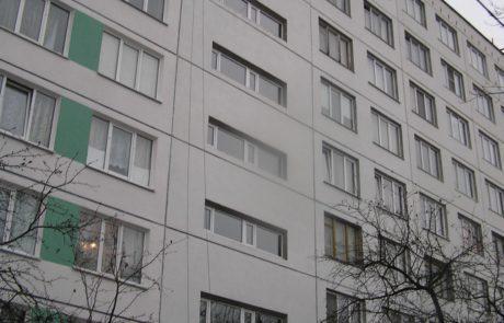 капитальный ремонт фасада