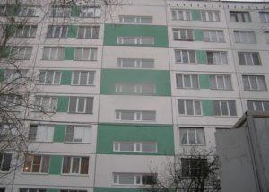 ремонт фасада окна