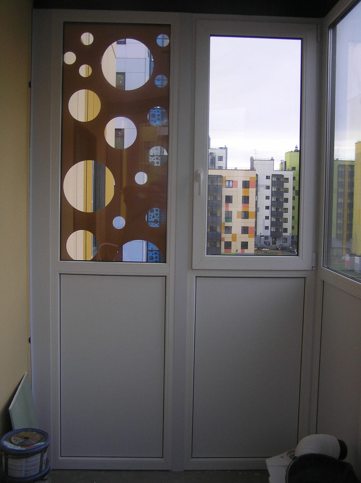 Пленка Oracal рисунок стекло