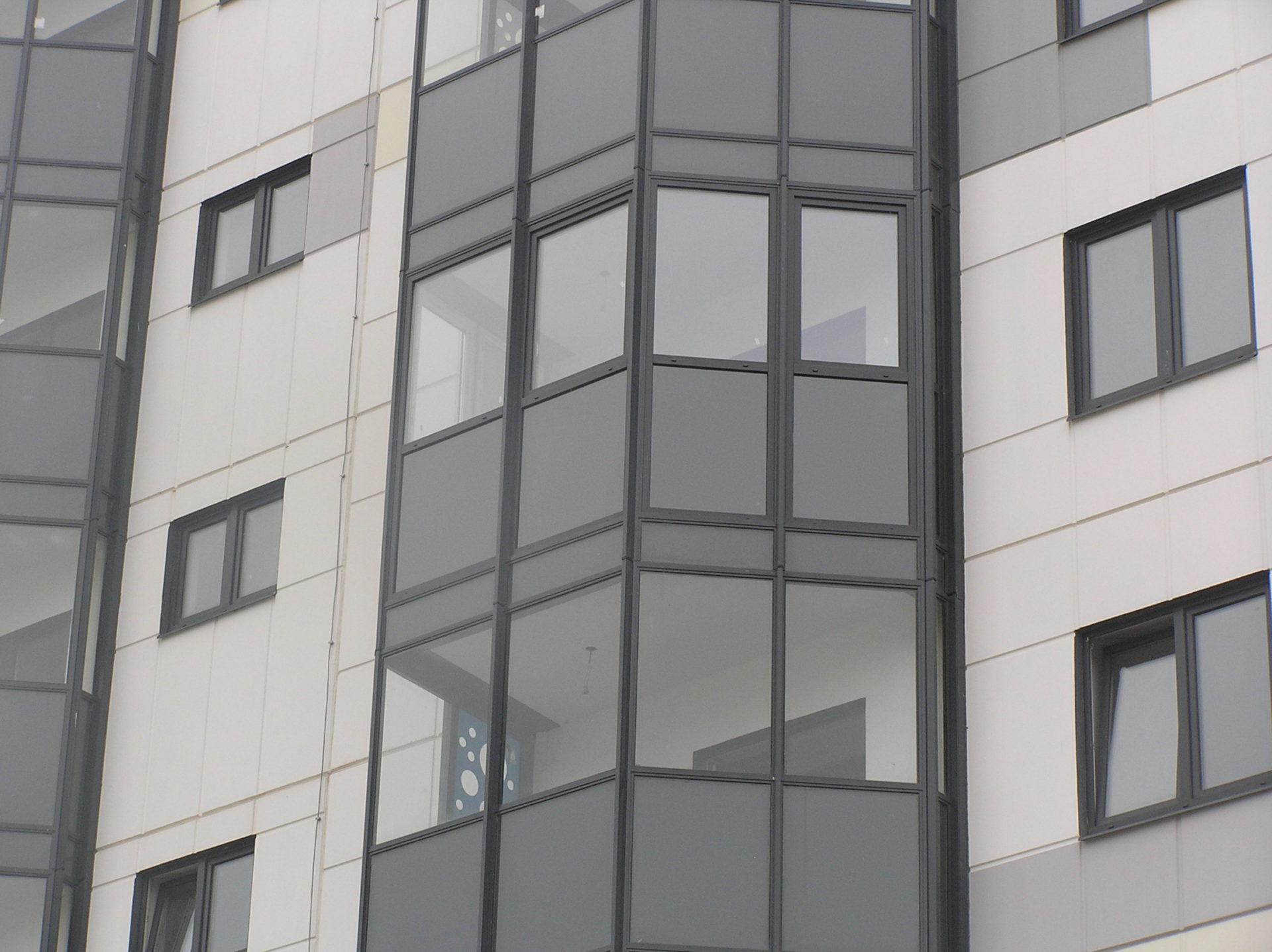 Теплое остекление без изменения фасада
