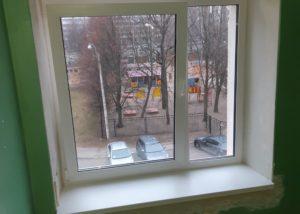 Окно в местах общего пользования