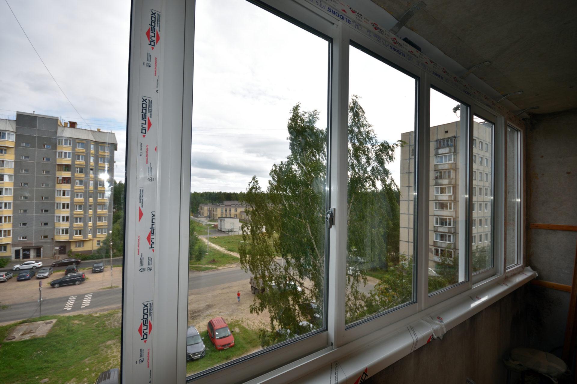 Остекление SLIDORS для балкона